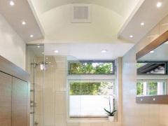 Встроенные светильники для ванной комнаты