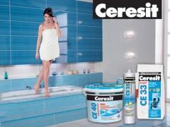 Затирка для швов плитки Ceresit