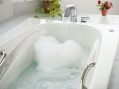 Сколько литров в ванне?