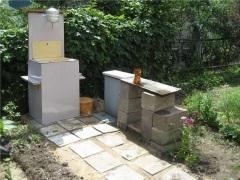 Умывальник-мойдодыр для дачи или сада