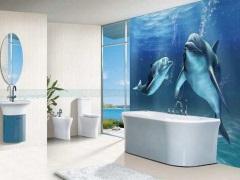 3D плитка для ванной комнаты - погружение в другое измерение