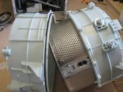 Как снять барабан на стиральной машине?