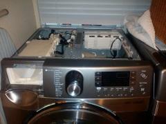 Как снять верхнюю крышку стиральной машины?