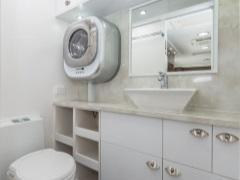 Настенные стиральные машины - отличное решение для маленькой ванной