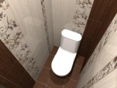 Ремонт и дизайн туалета в хрущевке ([N] фото)