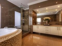 Укладка плитки в ванной комнате