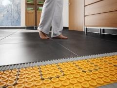 Теплый пол под плитку на нагревательных матах