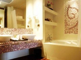 Желто-коричневая ванная