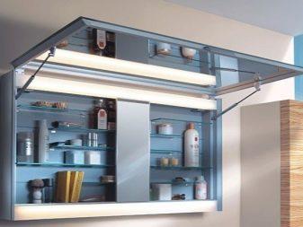 Подвесной шкаф для хранения косметических средств