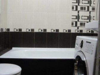 Стиральные машинки в маленькой ванной