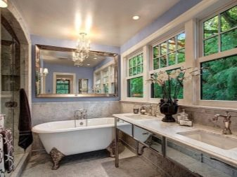 Ванная в стиле арт-деко и её цветовое решение