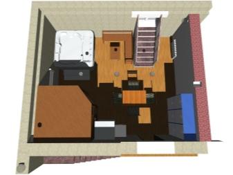 Баня в подвале дома – практические советы по оборудованию бани в частном доме. Строительство бани в цокольном этаже дома