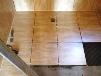 Укладка плитки стык в стык
