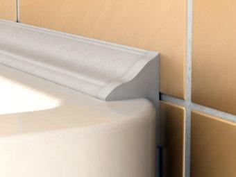 бордюр для ванны под плитку