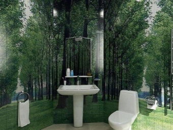Фотопанно лес