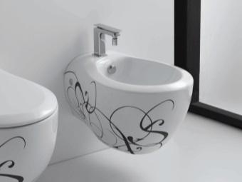 Встроенное биде в ванной