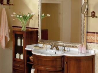 Мебель для ванной комнаты из дерева