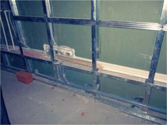 Создание металлоконструкций для стен в ванной