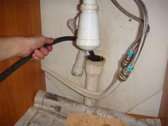 Прочистка канализации гидродинамическим методом