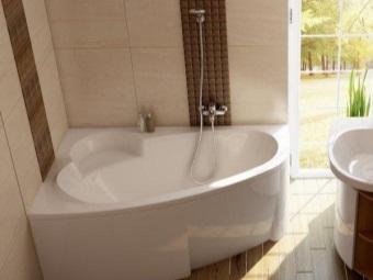 Угловая акриловая ванна Ravak