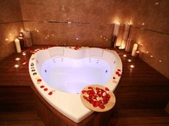 """Ванна для двоих """"Сердце"""""""