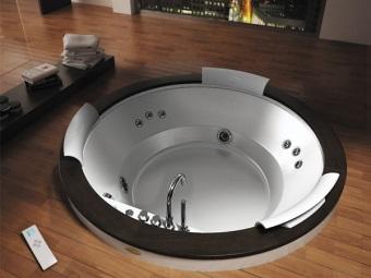 Монтаж интегрированной ванной