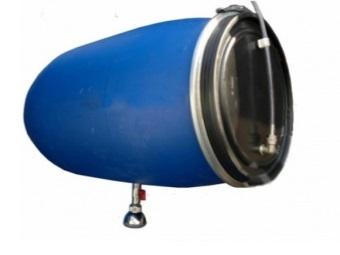 Емкость под воду для душевой кабины на даче