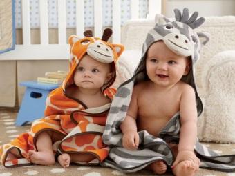 Полотенце-звери для детей