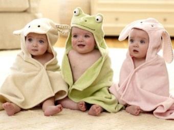 Полотенца-зверюшки для детей