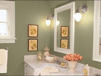 Выбор покрытия стен для ванной - кафельная плитка или краска