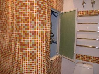 Выбор крышек для люков в ванной