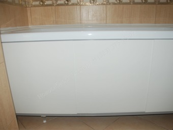 Стандартный экран под ванну