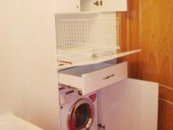 Встраиваемая стиральная машина и мебель для нее