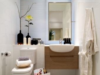 Раковина со столешницей в ванную