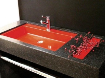Раковины из агломерата для ванной
