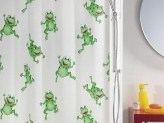 Детская шторка для ванной комнаты