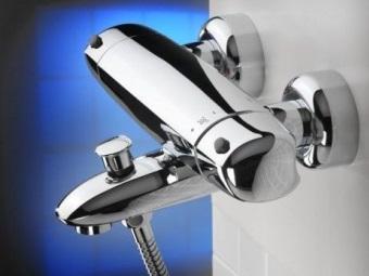 Термостатические смесители для ванной их достоинства