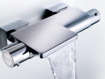 Преимущества термостатического смесителя для ванной