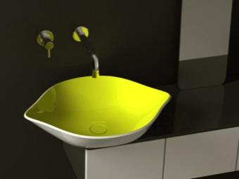 Эксклюзивный дизайн встроенной раковины для ванной комнаты
