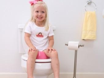 Сиденье анатомической формы на унитаз для ребенка