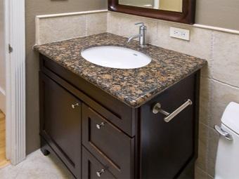 Правила установки раковины с тумбой в ванной комнате