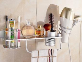 Достоинства держателей для фена в ванной