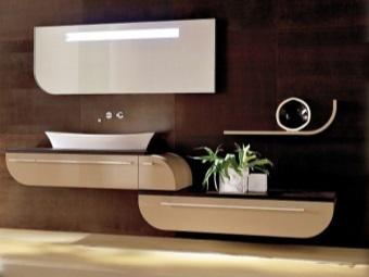 Функциональность итальянской мебели для ванной