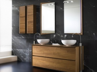 Функциональная итальянская мебель для ванной комнаты