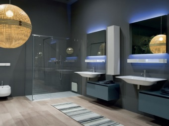 Итальянская мебель для ванной комнаты Antonio Lupi