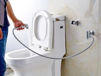Преимущества смесителя с гигиеническим душем