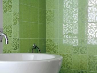 Уход за керамической плиткой в ванной