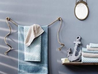 Дизайнерские вешалки для полотенец
