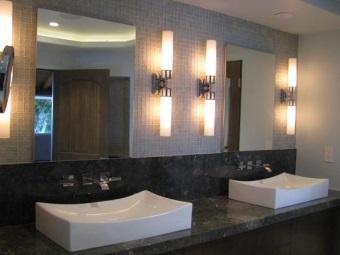 Настенные для ванной комнаты с рассеянным светом