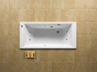Преимущества чугунных ванн с гидромассажем